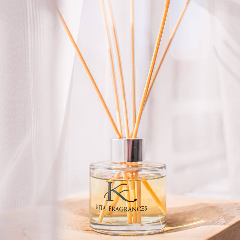 Kita Fragrances Lemongrass Essential Oil Reed Diffuser 100ml home & decor Kita Fragrances