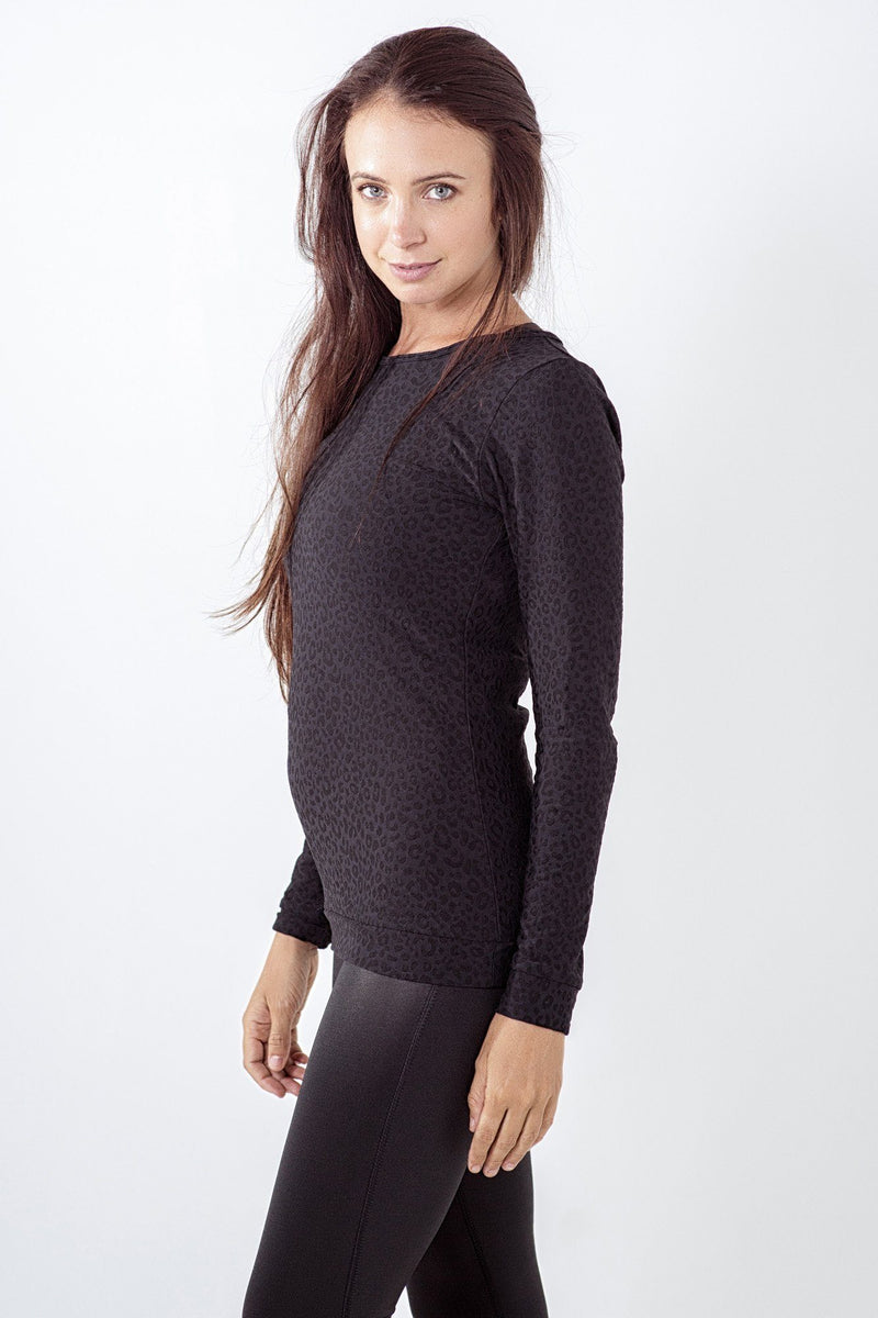 Lara Fay ActiveWear The Motivator Long Sleeve Crew Neck Top clothing & accessories Lara Fay