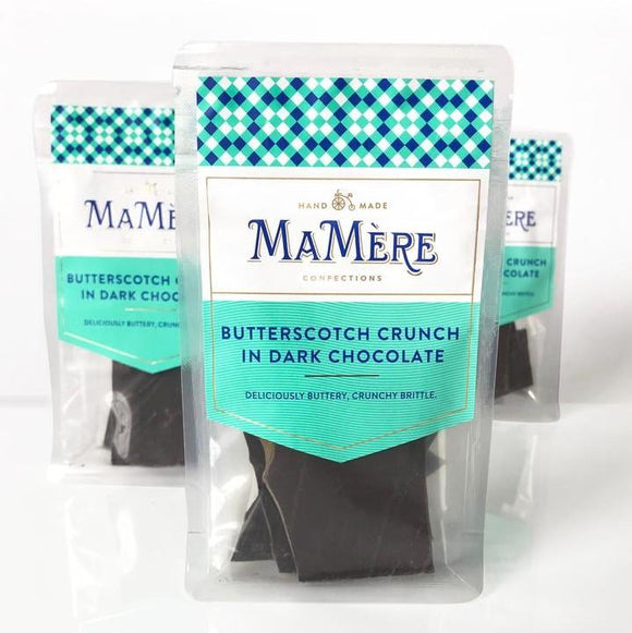 Ma Mère Confections Butterscotch Crunch in Dark Chocolate 80g food Ma Mère Confections