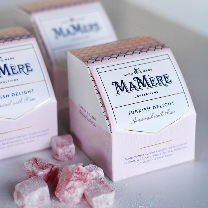 Ma Mère Confections Rose Flavoured Turkish Delight food Ma Mère Confections