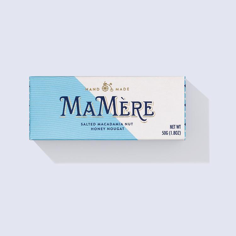 Ma Mère Confections Salted Macadamia Nougat Bars 50g food Ma Mère Confections