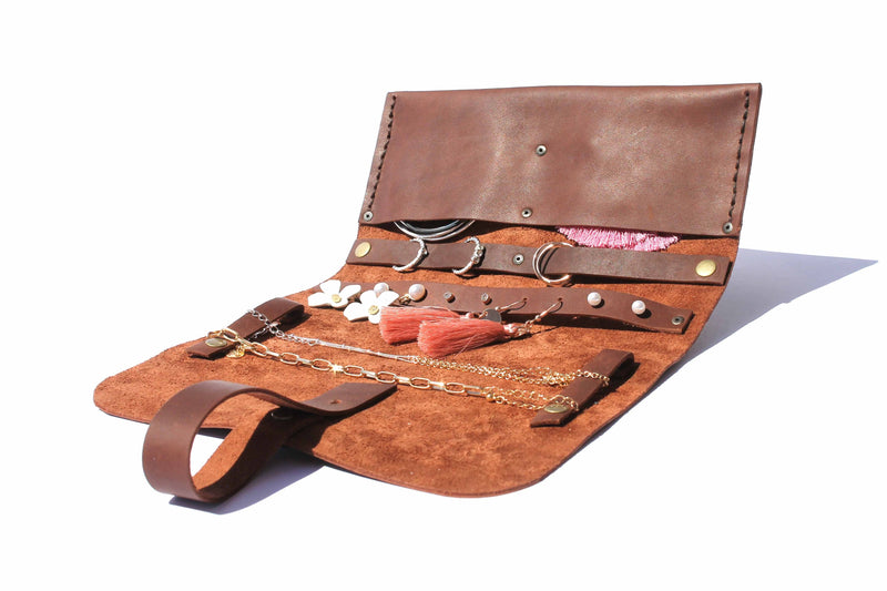 Major Jane Genuine Leather Jewellery Roll clothing & accessories Major John