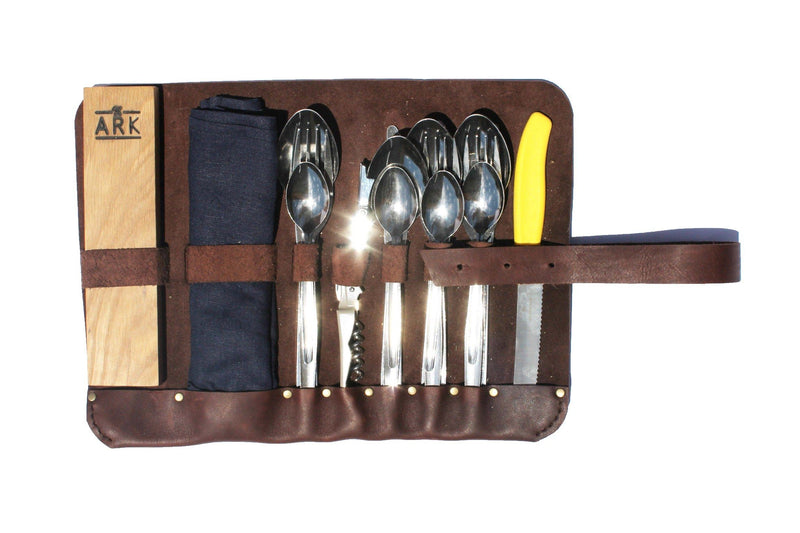 Major John Genuine Leather Tool Roll-Up lifestyle Major John