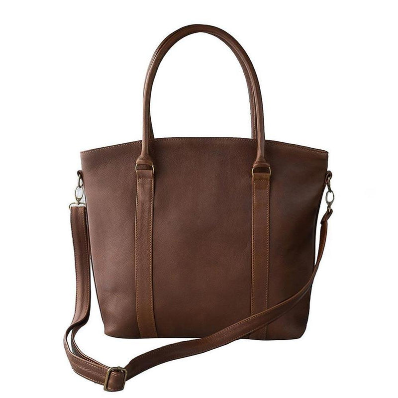Mally Ladies Emma Handbag clothing & accessories Mally Leather Bags saddle brown