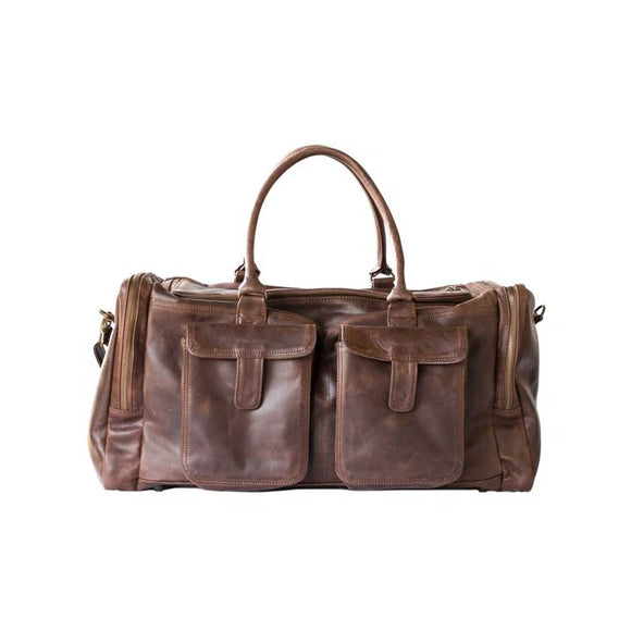 Mally Philip Leather Travel Bag clothing & accessories Mally Leather Bags