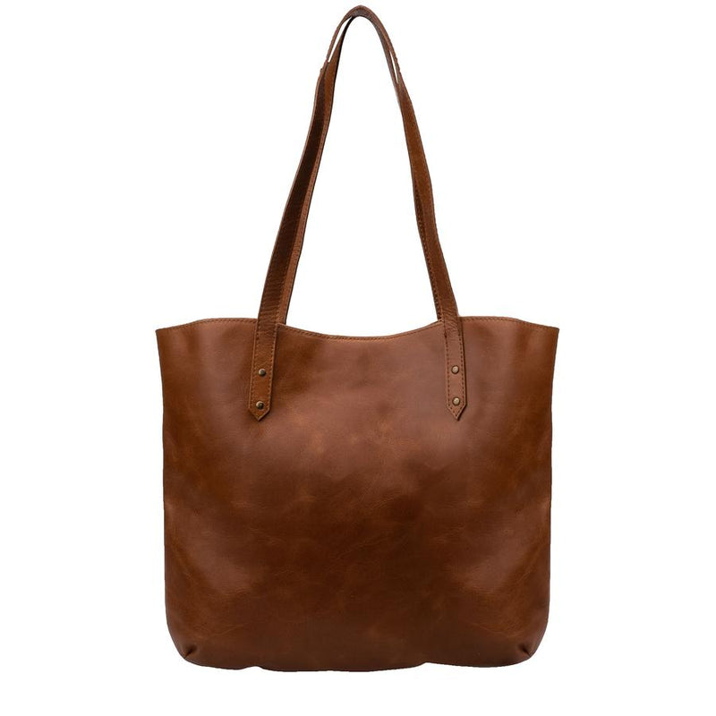 Mally Zara Tote Leather Handbag clothing & accessories Mally Leather Bags toffee