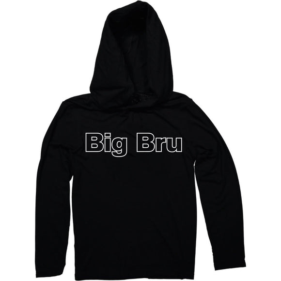 MayBru 'Big Bru' Kids Black Light Weight Hoodie baby & kids MayBru