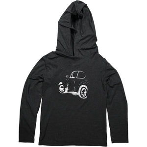 MayBru 'Buggy ZA' Kids Charcoal Light Weight Hoodie baby & kids MayBru
