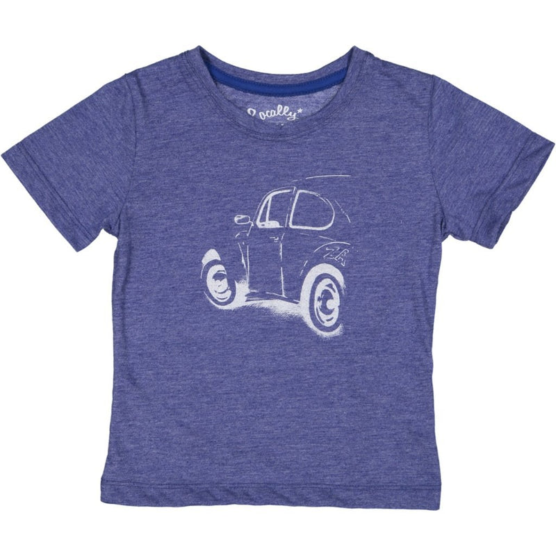 MayBru 'Buggy ZA' Kids Ink Melange T-Shirt baby & kids MayBru
