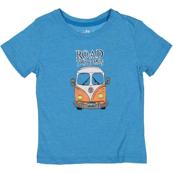 MayBru 'Road Tripping' Kids Brilliant Blue T-Shirt baby & kids MayBru