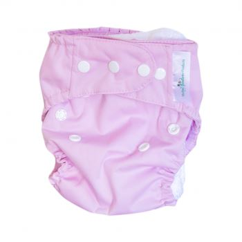Mother Nature All-In-Three Cloth Nappy baby & kids Mother Nature Products dusty pink