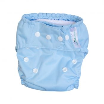Mother Nature All-In-Three Cloth Nappy baby & kids Mother Nature Products sky blue
