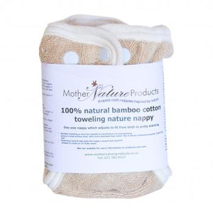 Mother Nature The Nature Nappy Bamboo baby & kids Mother Nature Products