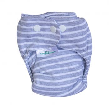 Mother Nature The Nature Nappy Cotton-On baby & kids Mother Nature Products grey-stripe