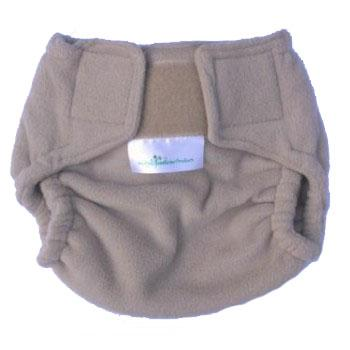 Mother Nature The Night Fleece Nappy Cover baby & kids Mother Nature Products small beige