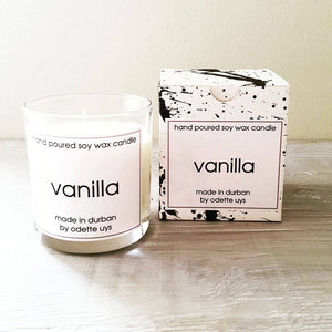 Odette Art Vanilla Soy Massage Candle 250ml home & decor Odette Uys Art & Design