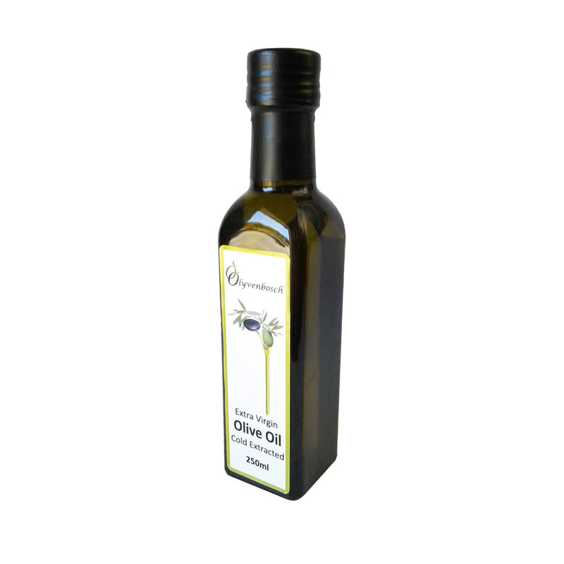 Olyvenbosch Extra Virgin Olive Oil 250ml Glass Bottle food Olyvenbosch Olive Farm