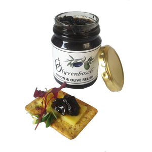Olyvenbosch Olive & Onion Relish food Olyvenbosch Olive Farm 175 grams