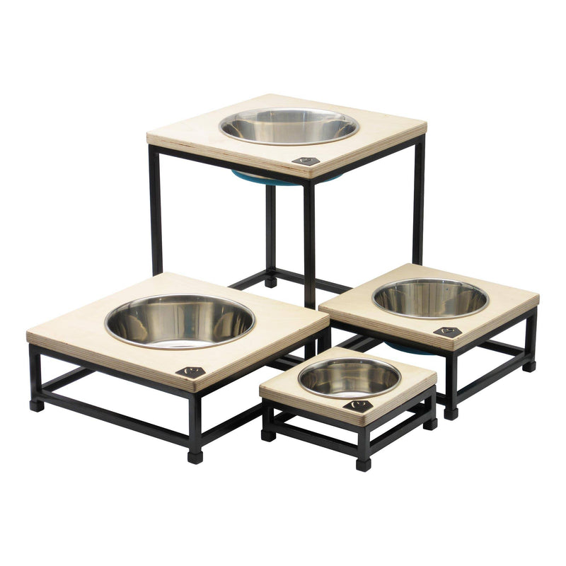 Petsville Raised Single Skye Dog Bowl Stands pets Petsville