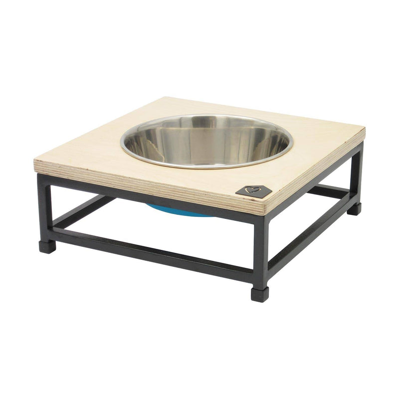 Petsville Raised Single Skye Dog Bowl Stands pets Petsville large low