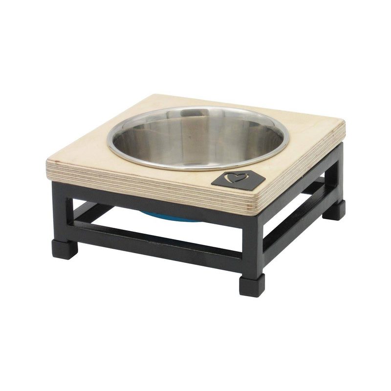Petsville Raised Single Skye Dog Bowl Stands pets Petsville small