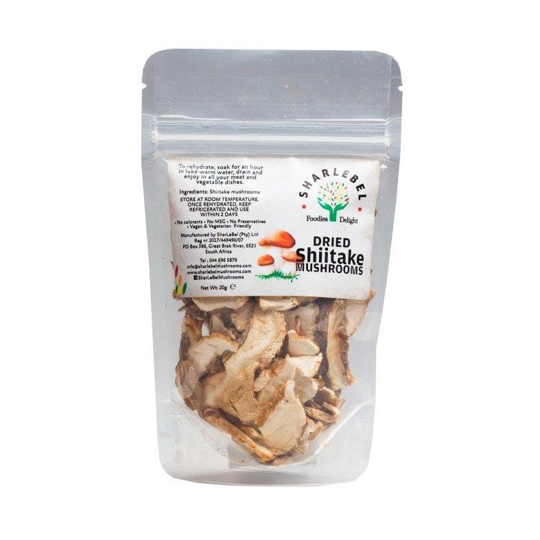 SharLeBel Dried Shiitake Mushrooms 20g food SharLeBel