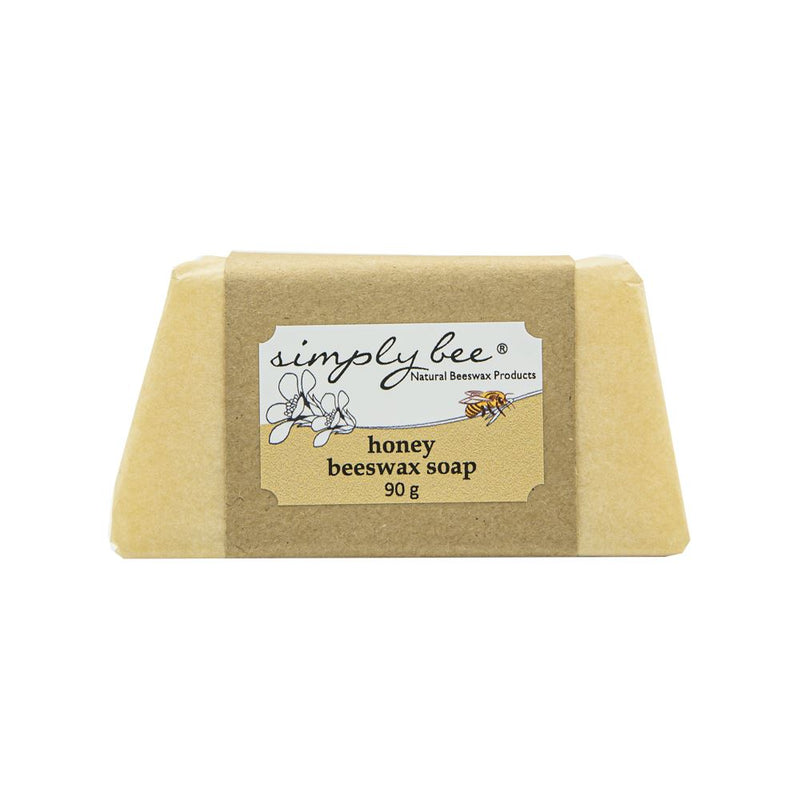 Simply Bee Honey Beeswax Soap 90g health & body Simply Bee