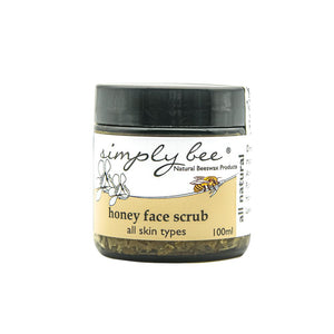 Simply Bee Honey Facial Scrub health & body Simply Bee