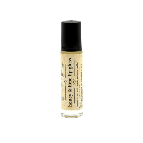 Simply Bee Honey & Lime Lip Gloss 10ml health & body Simply Bee