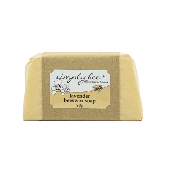 Simply Bee Lavender Beeswax Soap 90g health & body Simply Bee