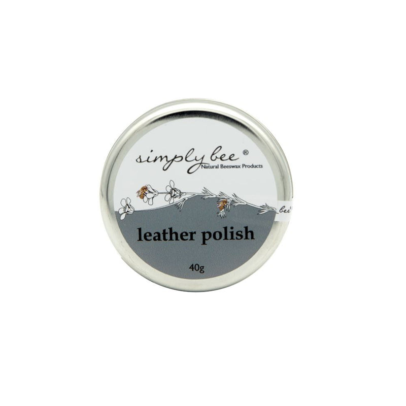 Simply Bee Leather Polish Tin 40g home & decor Simply Bee
