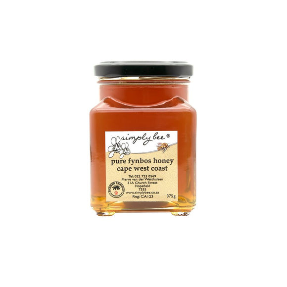 Simply Bee Pure Honey in Glass 375ml food Simply Bee