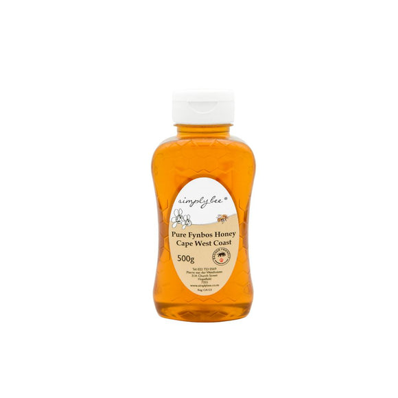 Simply Bee Pure Honey in Plastic 500g food Simply Bee