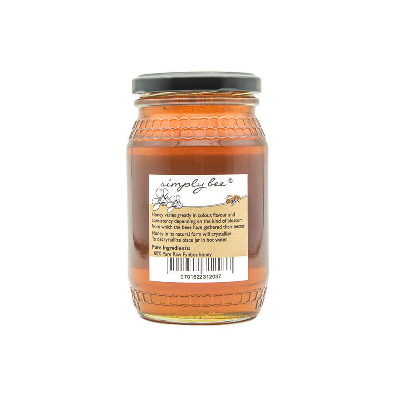 Simply Bee Raw Honey in Glass food Simply Bee