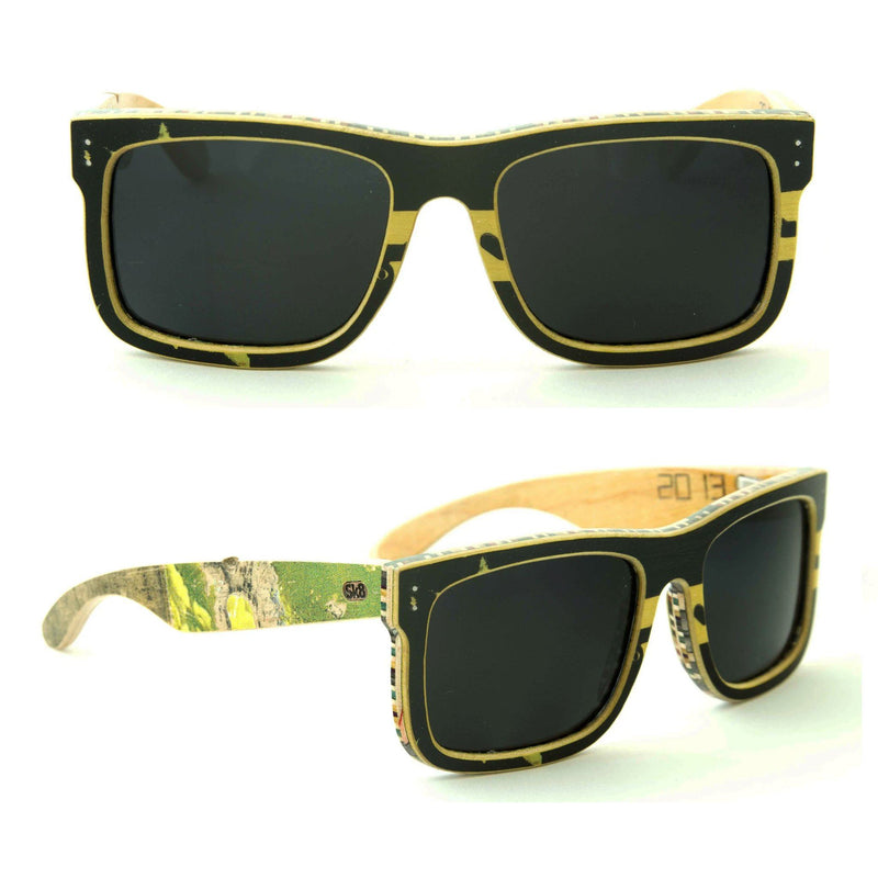 Sk8shades Scorpion Sunglasses clothing & accessories Sk8shades black-yellow