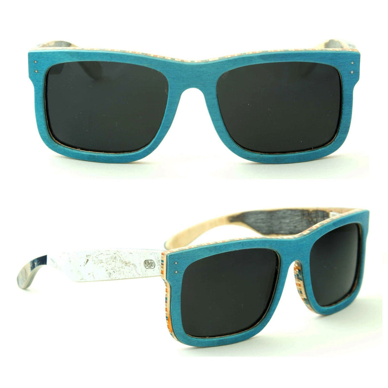 Sk8shades Scorpion Sunglasses clothing & accessories Sk8shades clean-blue