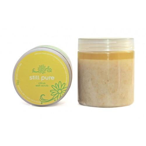 Still Pure Citrus Salt Scrub 300g health & body Still Pure