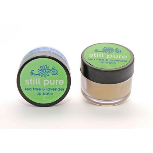Still Pure Moisturising Lip Balms 10ml health & body Still Pure tea tree & lavender