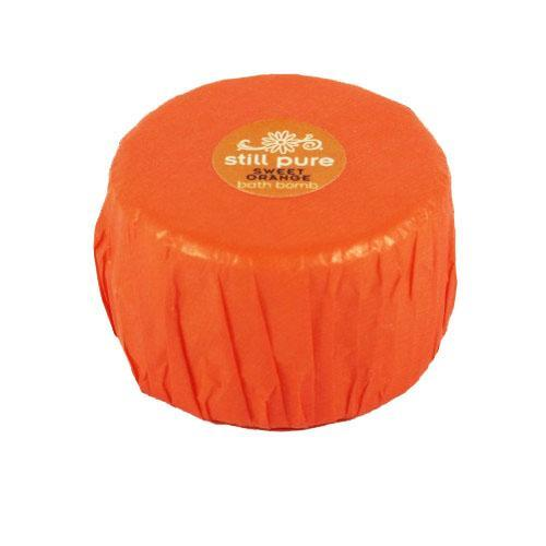 Still Pure Sweet Orange Bath Bomb 75g health & body Still Pure