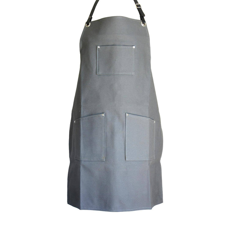 Woodheads Workmen's Canvas & Leather Aprons clothing & accessories Woodheads charcoal