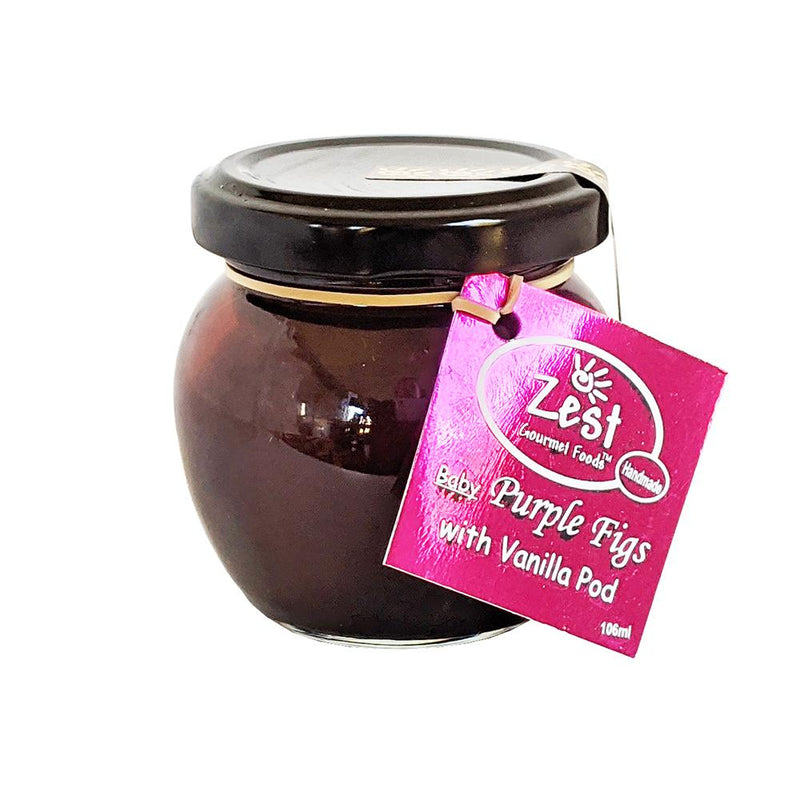Zest Gourmet Baby Purple Figs with Vanilla 106ml food Zest Gourmet Foods