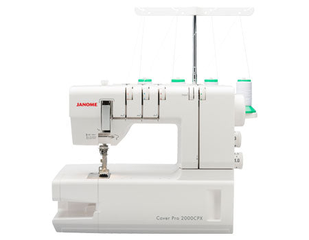 JANOME 2000CPX COVERHEM MACHINE