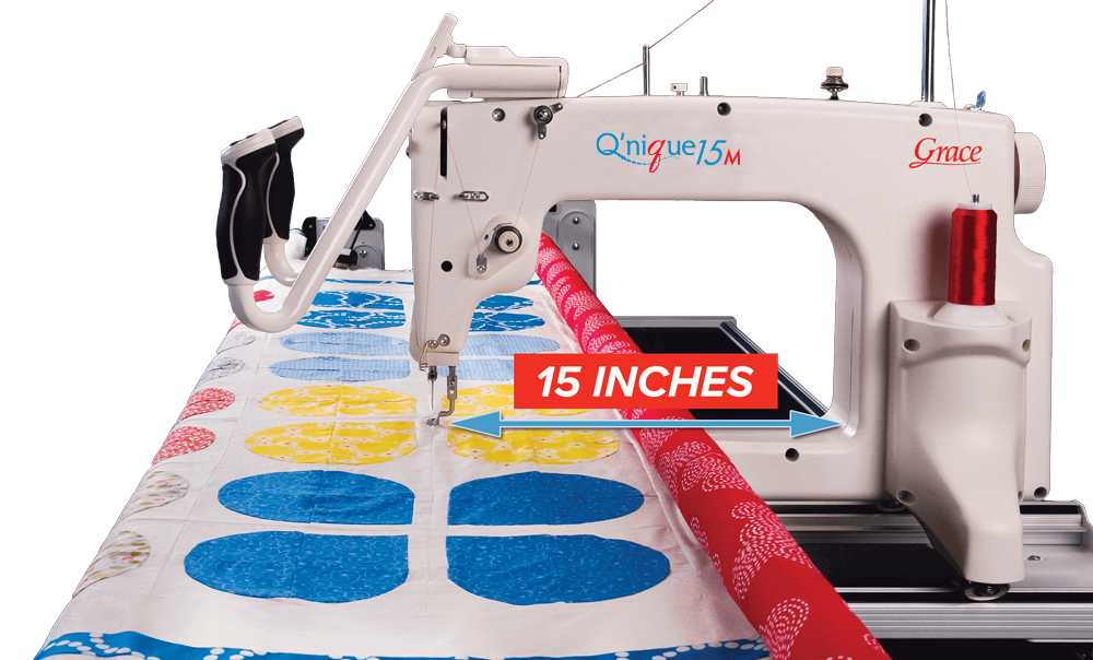 GRACE Q'NIQUE 15M QUILTING MACHINE