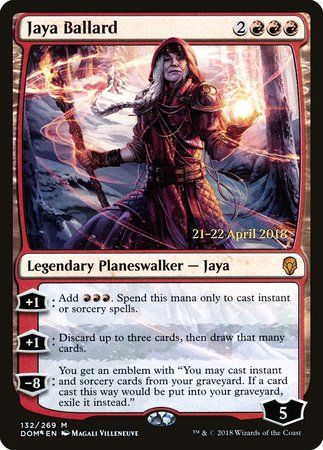 Jaya Ballard [Dominaria Promos] | Red Claw Gaming