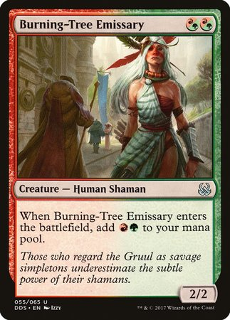 Burning-Tree Emissary [Duel Decks: Mind vs. Might] | Red Claw Gaming