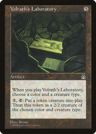 Volrath's Laboratory [Stronghold] | Red Claw Gaming
