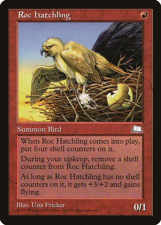 Roc Hatchling [Weatherlight] | Red Claw Gaming