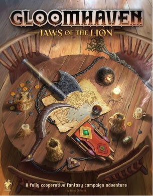 Gloomhaven Jaws of the Lion | Red Claw Gaming