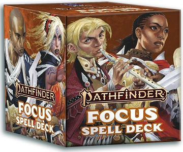Pathfinder Focus Spell Cards | Red Claw Gaming