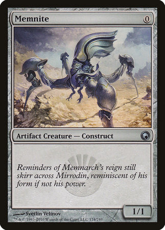 Memnite [Scars of Mirrodin] | Red Claw Gaming